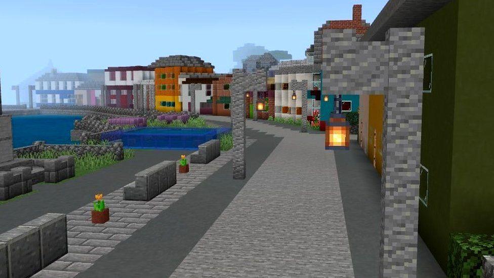 Игроки могут перемещаться по улицам Миллпорта во время восьми уровней игры.