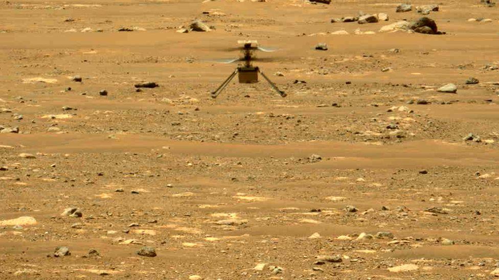 Вертолет Ingenuity совершил два полета.