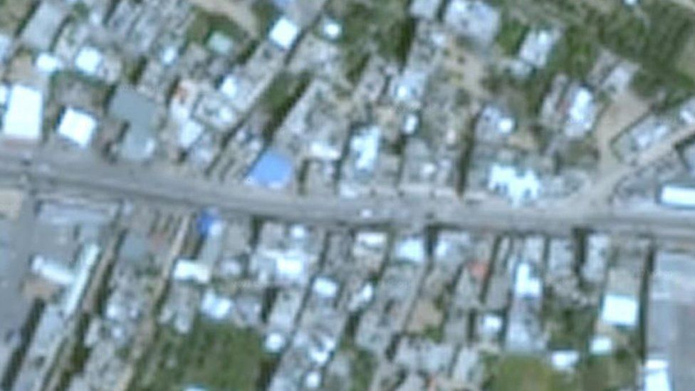 Images of Gaza on Google Earth are of poor resolution