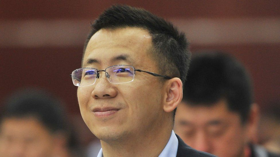 Zhang Yiming said he 'lacked skills that make an ideal manager'