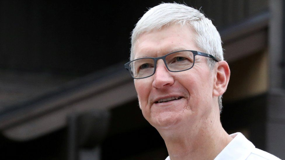 Apple's chief executive Tim Cook