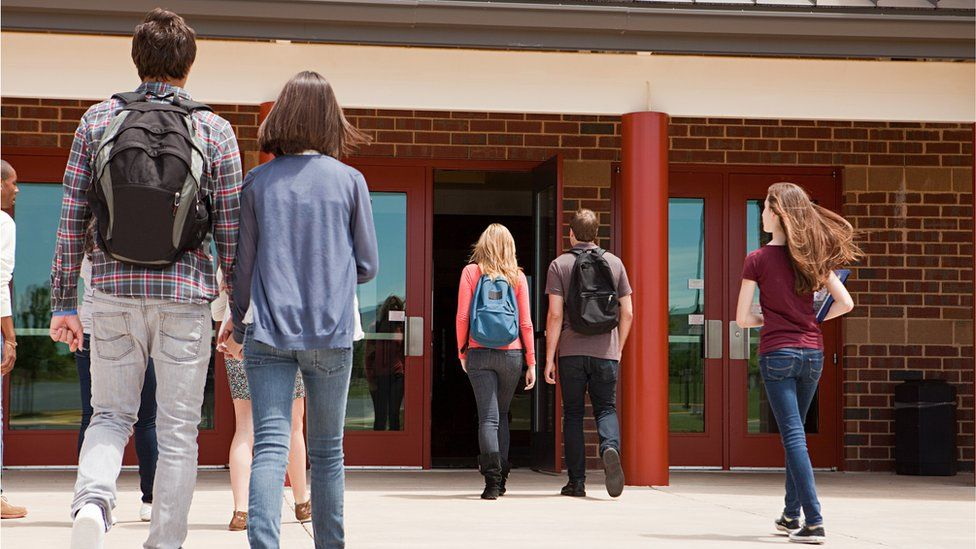 A US high school (stock image)