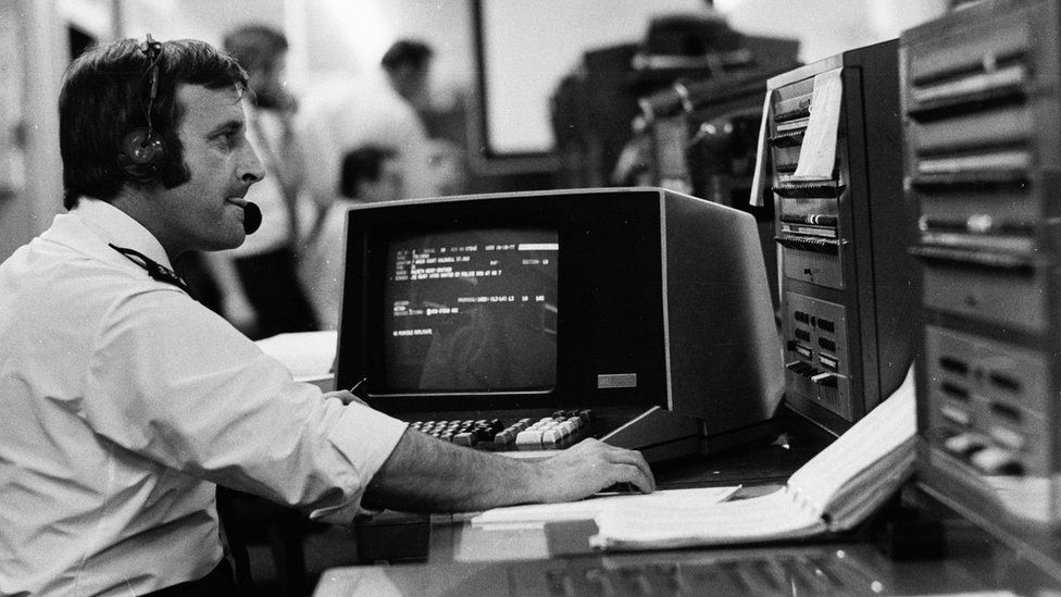 Police crime records were computerised in the 1970s
