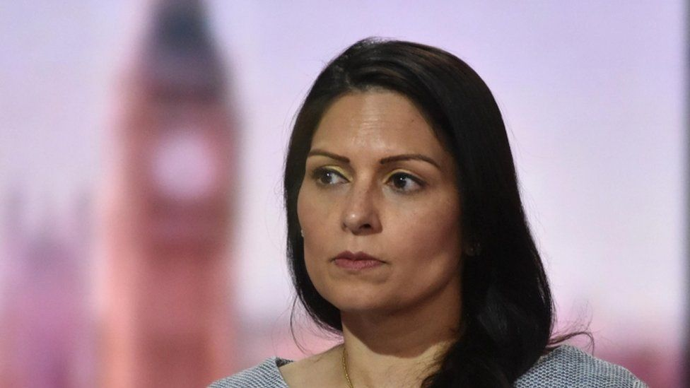 Priti Patel says her department's IT is out of date
