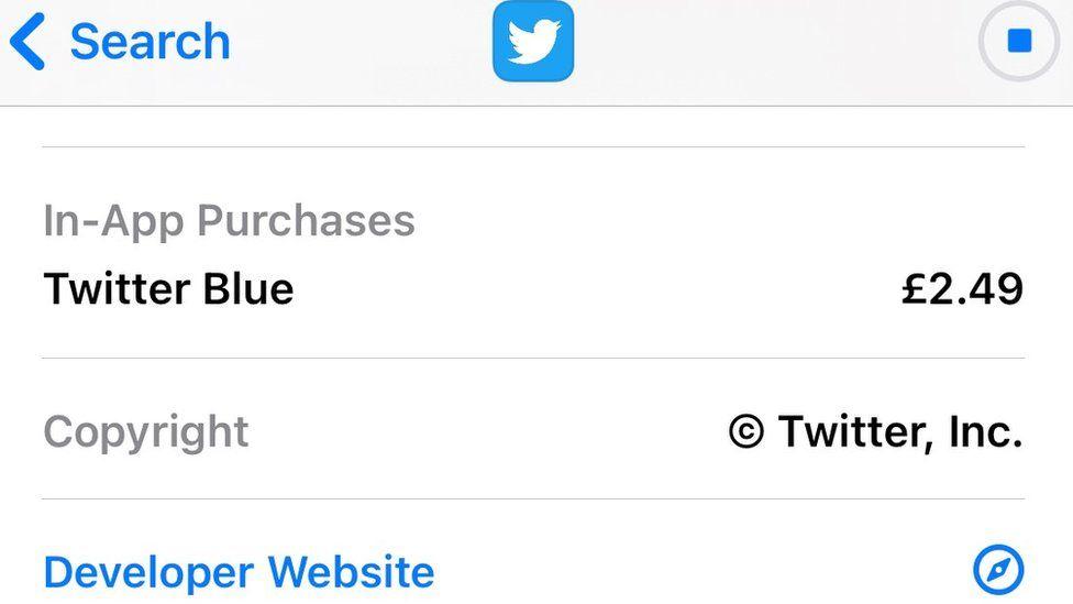 Подписка «Twitter Blue» появилась в магазинах приложений.