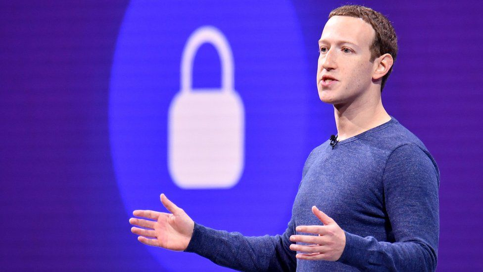 """Mark Zuckerburg's Facebook said his company operates in a """"highly competitive"""" market."""