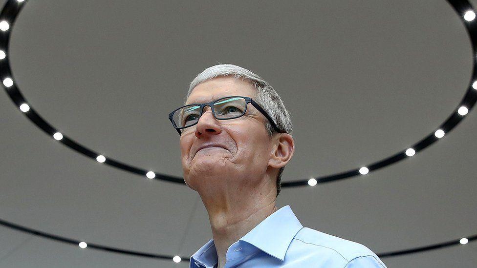Босс Apple Тим Кук