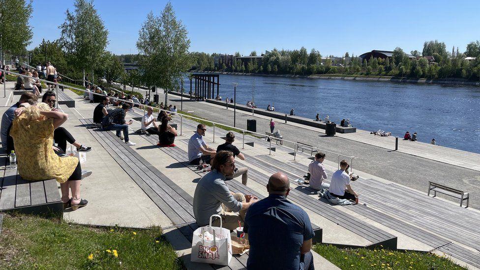 Skellefteå has a boomtown feel to it
