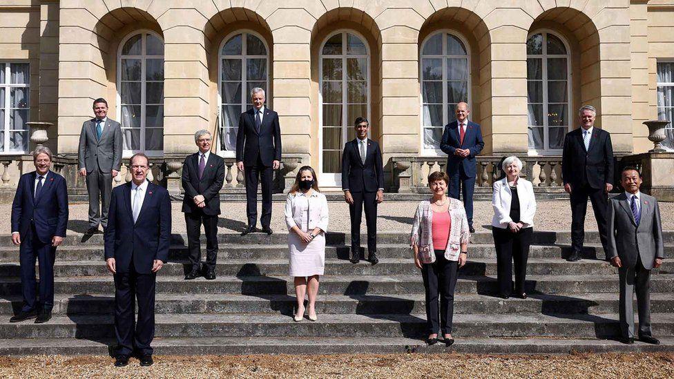 Министры финансов G7 согласовали сделку 5 июня в Ланкастер Хаус, Лондон.