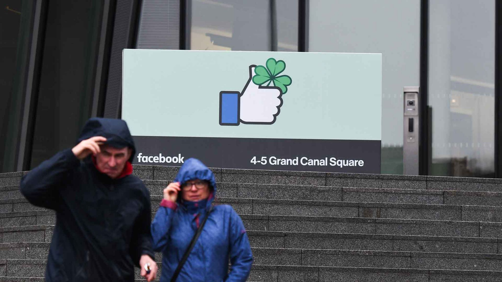 Штаб-квартира Facebook в Дублине G7