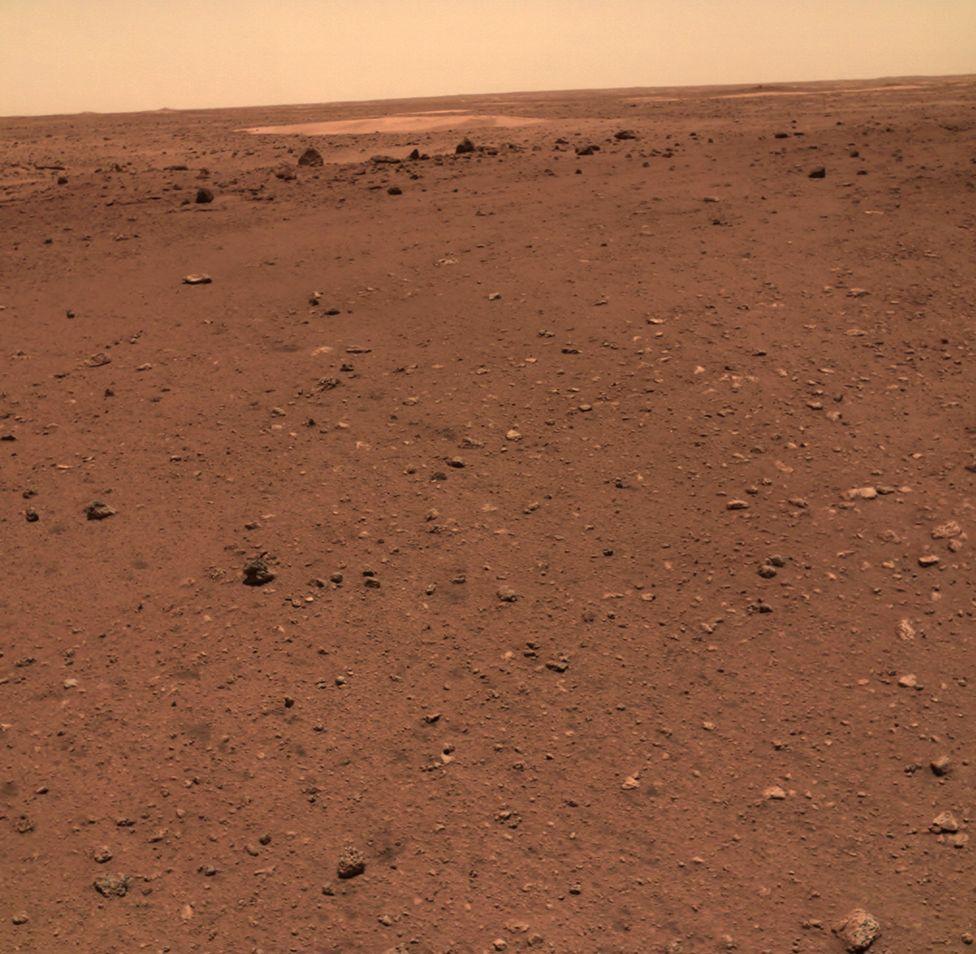 Утопия Планиция - древний ударный бассейн на Марсе. Mars