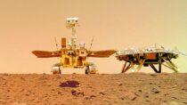 Китайский марсоход Zhurong Mars сделал селфи