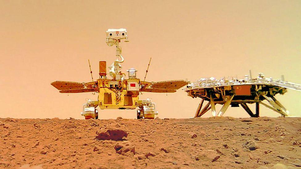Снимок сделан на беспроводную камеру. Mars