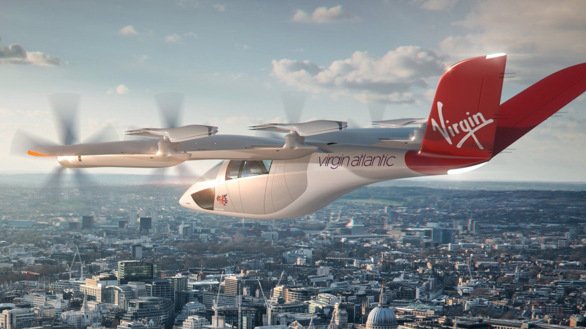 VA-X4 в ливрее Virgin Atlantic