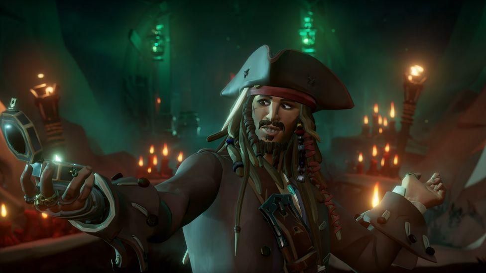 """Связь с диснеевскими """"Пиратами Карибского моря"""" была одним из многих обнаруженных игровых расширений"""