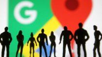 Замороженные во времени родственники на Google Street View