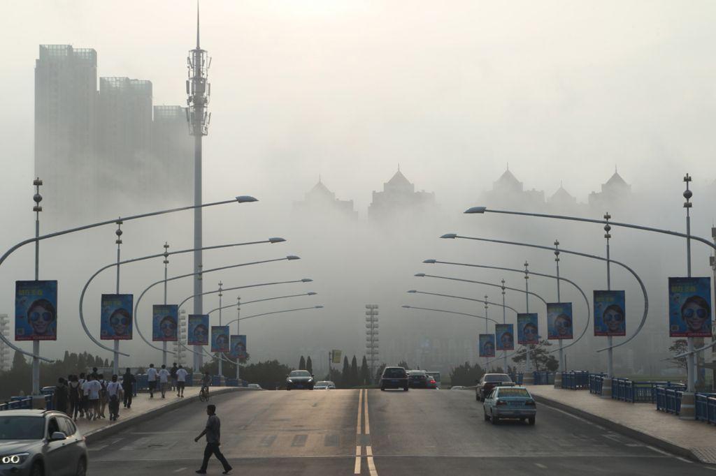 Туман в Даляне