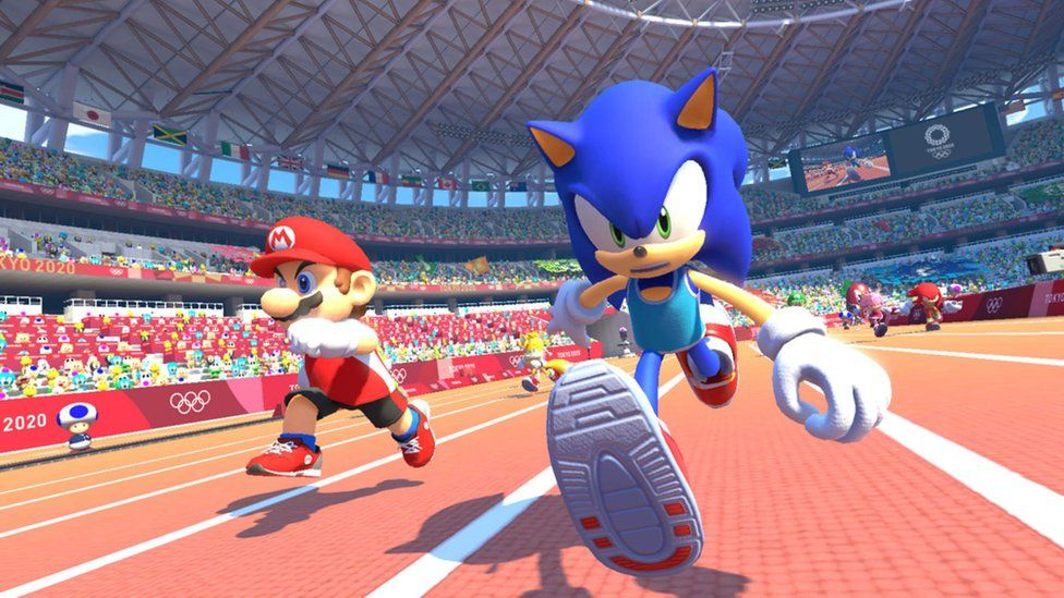 Марио и Sonic теперь появляются рядом друг с другом в играх