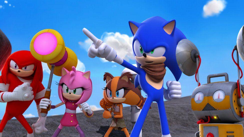 Sonic Boom - это спин-офф сериала, основанный на персонаже, которого Том помог создать 30 лет назад