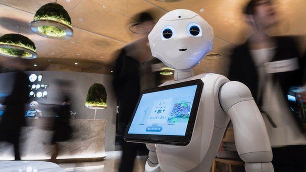 Pepper был одним из самых известных роботов, появлявшихся на мероприятиях по всему миру