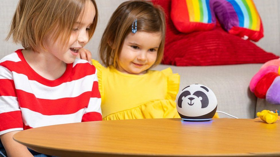 The speakers come with a range of Alexa child-friendly skills