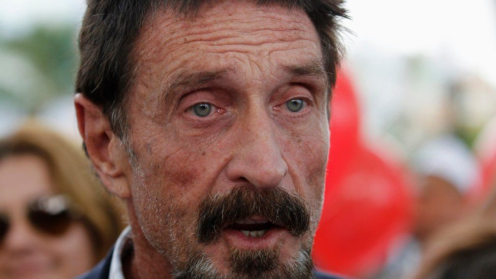 McAfee founded an anti-virus company of the same name, in 1987