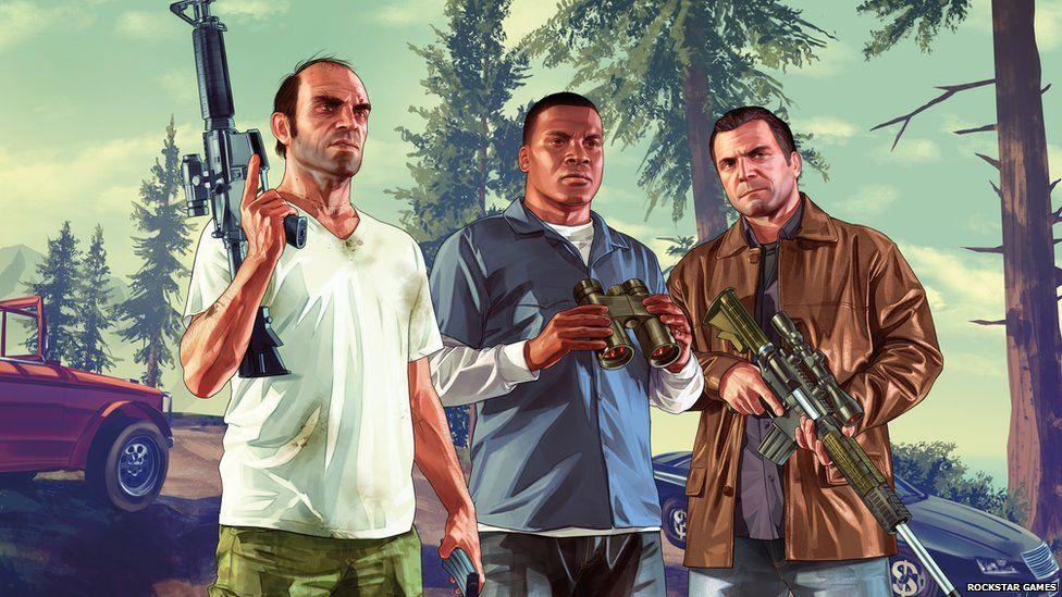 GTA V - одна из игр, которые раздаются бесплатно - со скрытым вредоносным ПО.