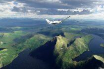 Microsoft Flight Simulator добавляет красивые скандинавские виды в своем последнем обновлении
