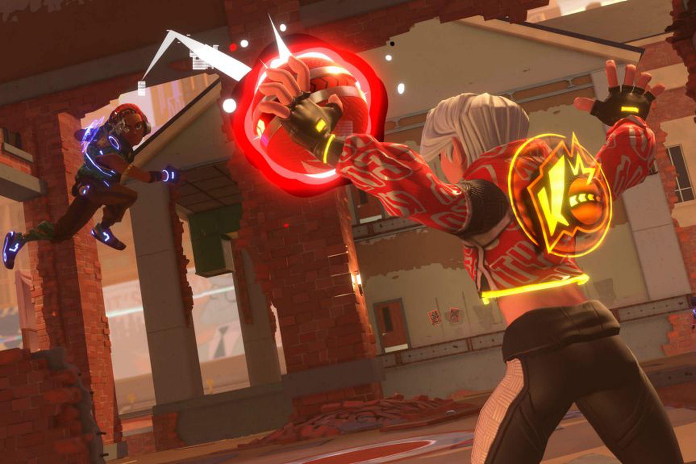 Скриншот из игры EA - Knockout City.