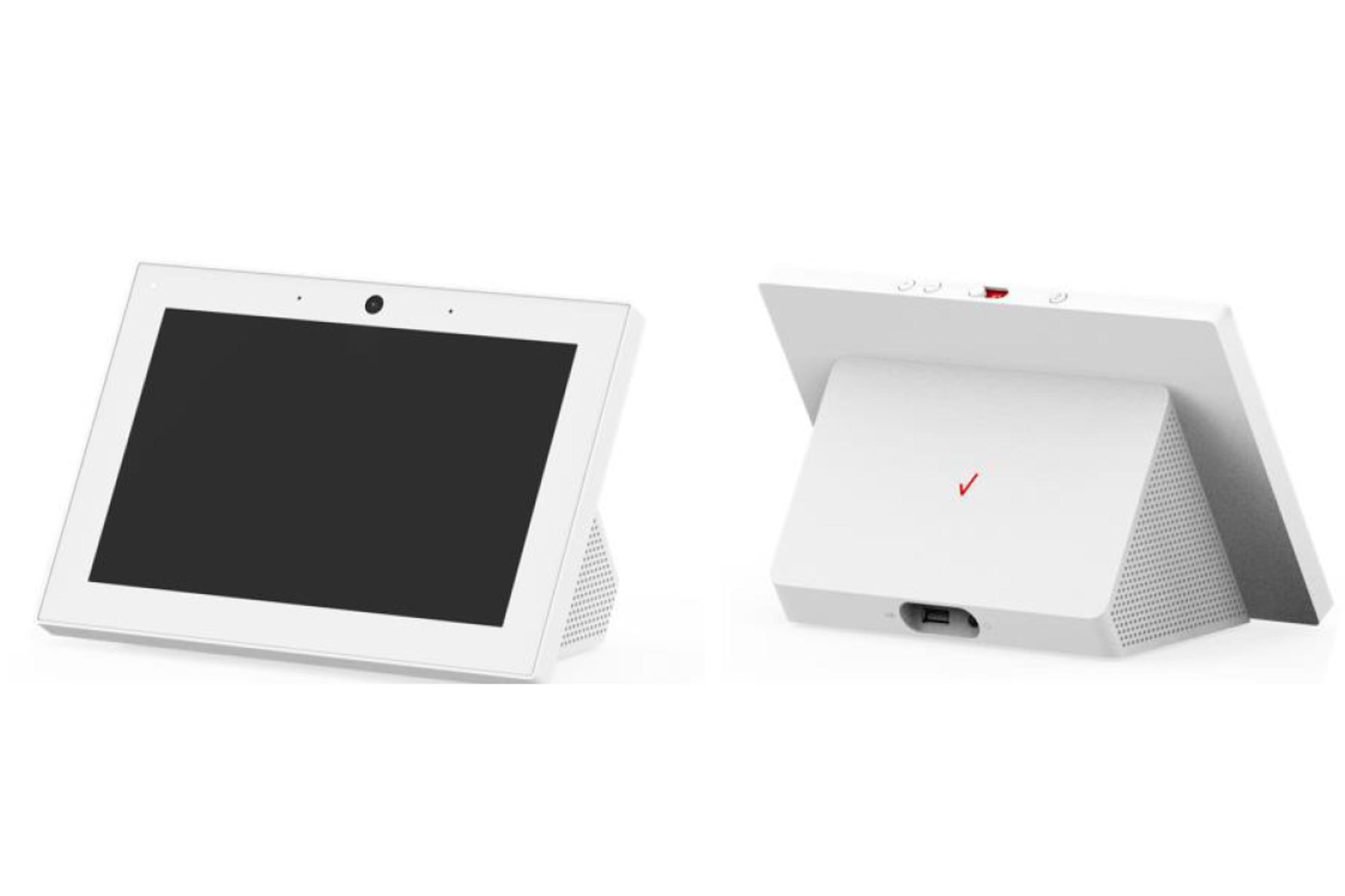 Изображение смарт-дисплея из патентной заявки Verizon, поданной в FCC.