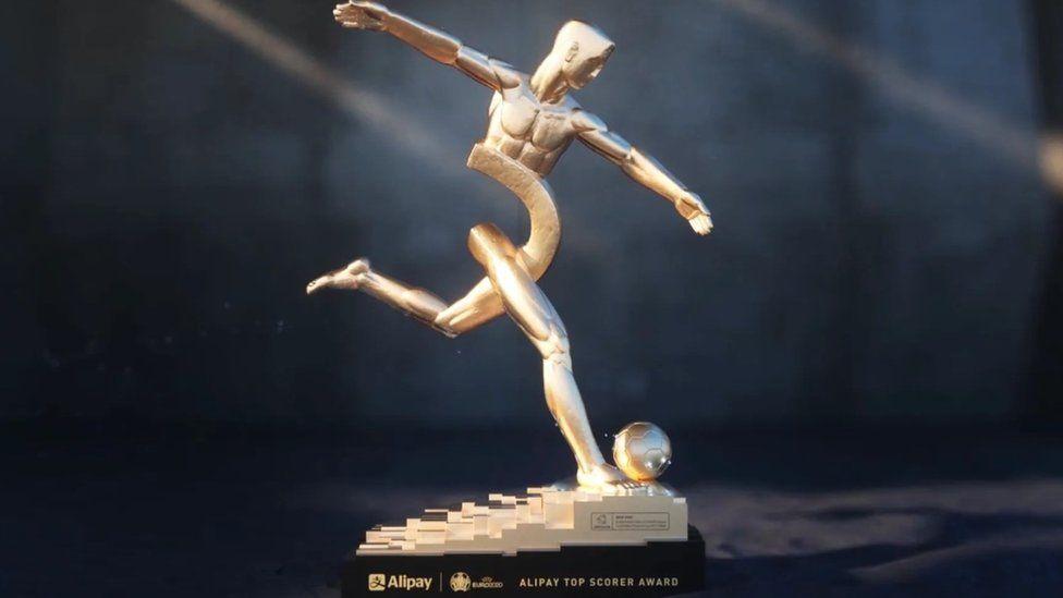 Трофей лучшего бомбардира Евро-2020 Alipay