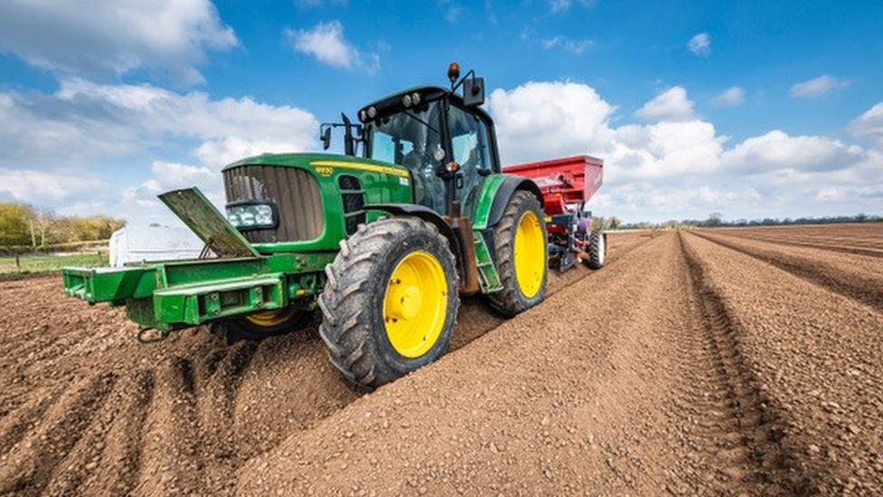 There is growing rage among farmers in the US they cannot repair their own equipment, such as tractors