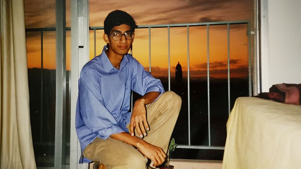 Сундар Пичаи в общежитии Стэнфордского университета в 1994 году