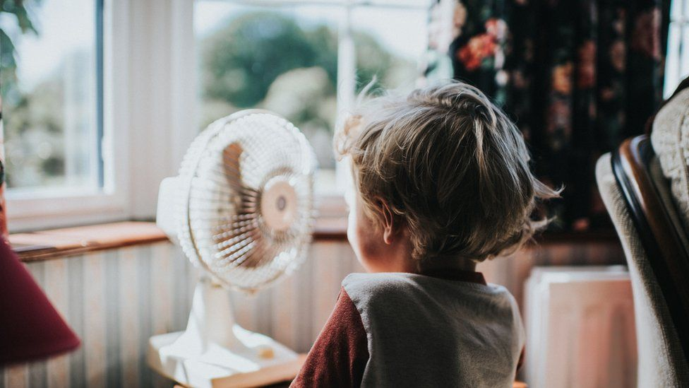 Air moving through a home helps cool it