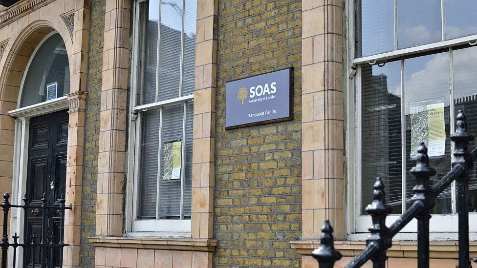 The group also compromised a website belonging to the School of Oriental and African Studies in London