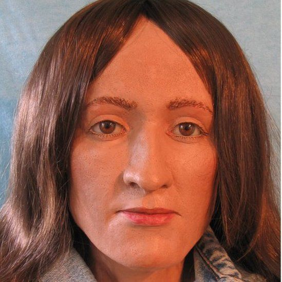 Based on Graces' skull, a forensic artist drew up a picture of what she might have looked like