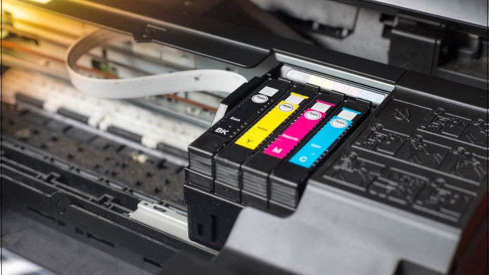 Printer ink can need replacing several times a year