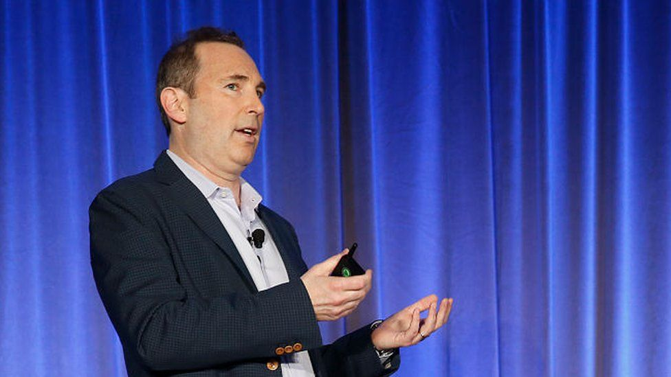 Andy Jassy took over the top job at Amazon on 5 July