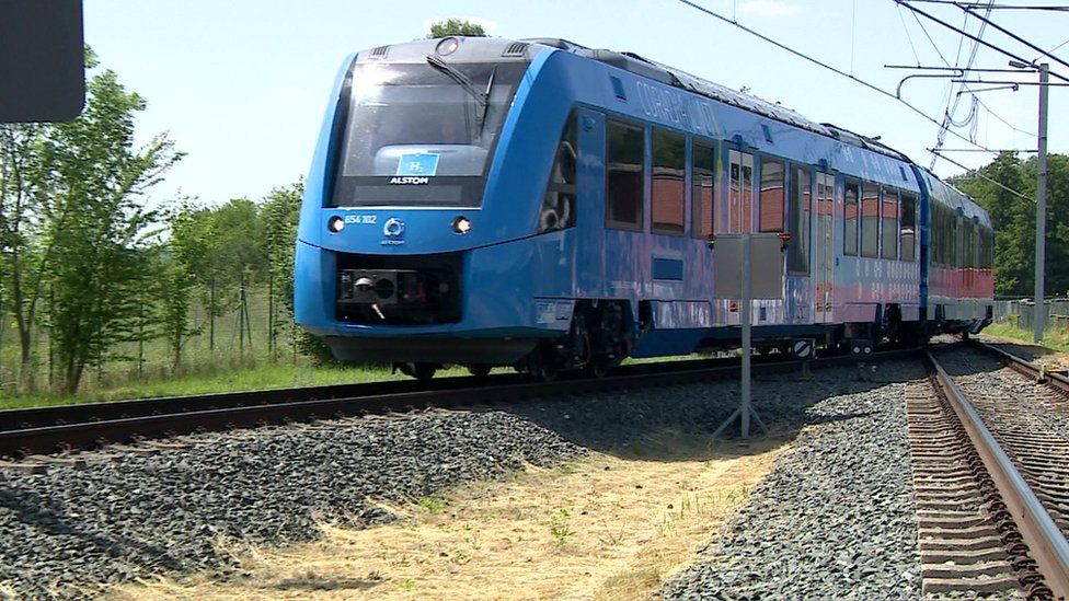 Hydrogen-powered trains are undergoing tests