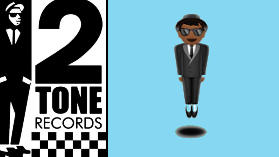 The 2 Tone Records logo was based on Peter Tosh - and it in turn became the levitating emoji