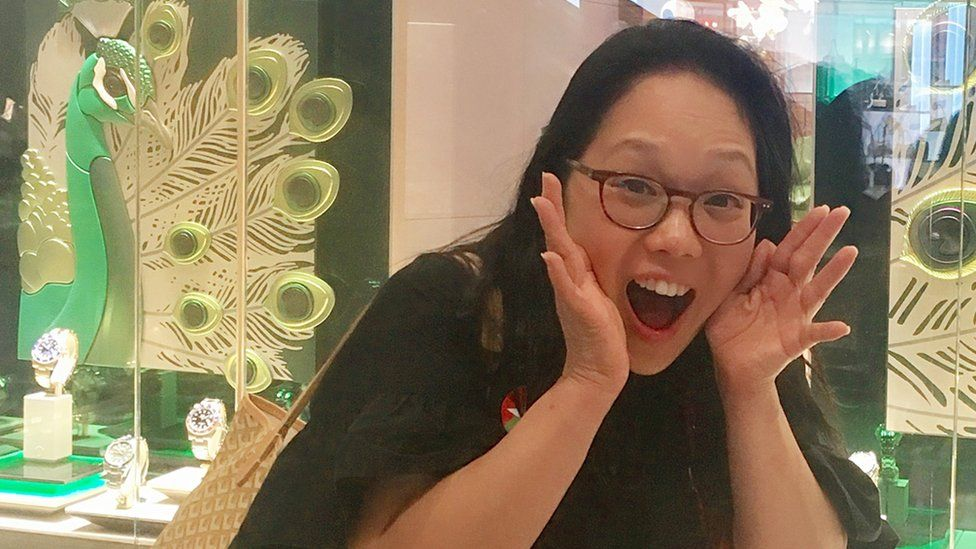 Irene Cho (pictured) and Yiying Lu were responsible for the peacock emoji