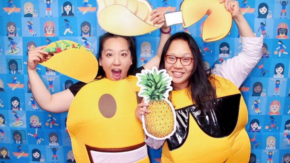 Yiying Lu and Irene Cho met at Emojicon, an emoji conference in San Francisco