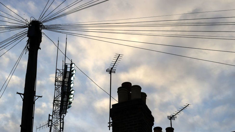 Telephone wires have been around for more than 100 years