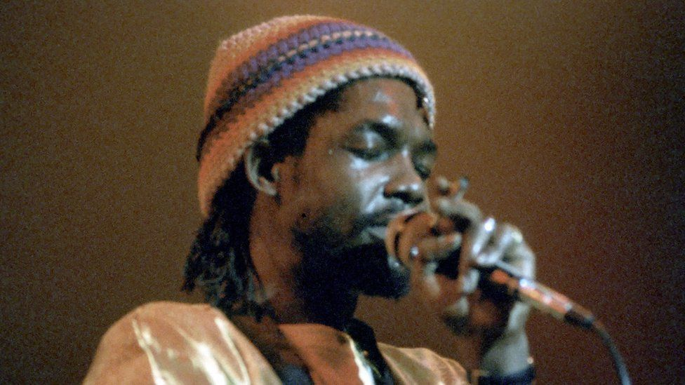 Reggae musician Peter Tosh's own family did not know he inspired an emoji