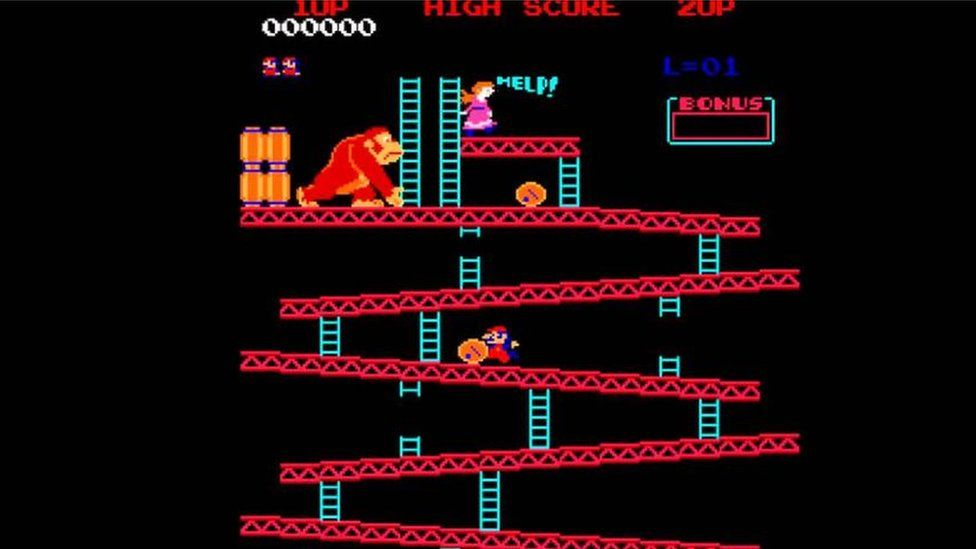 Mario's first appearance in a game was in 1981's Donkey Kong, a game designed by Shigeru Miyamoto, when he was known as Jumpman