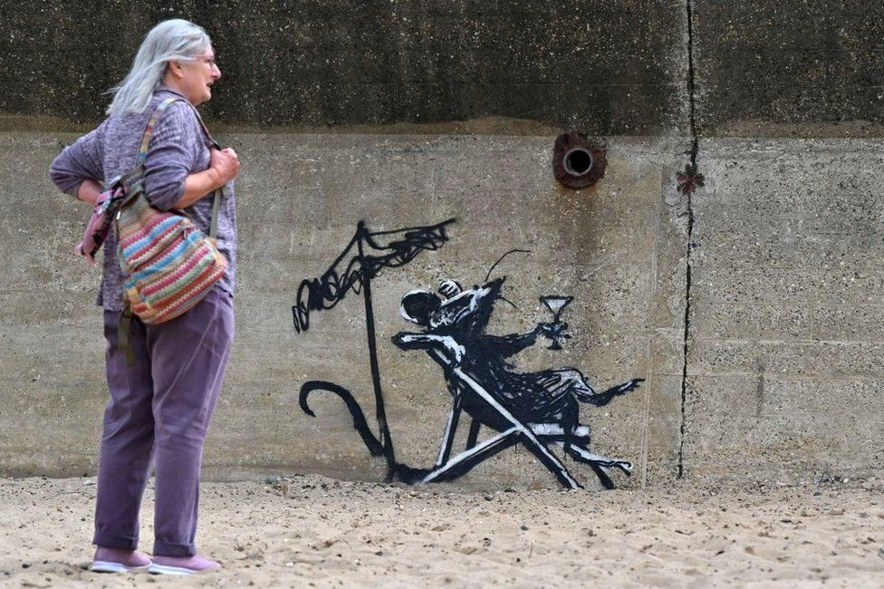 New paintings have recently been uncovered, as part of Banksy's 'Staycation stunt'