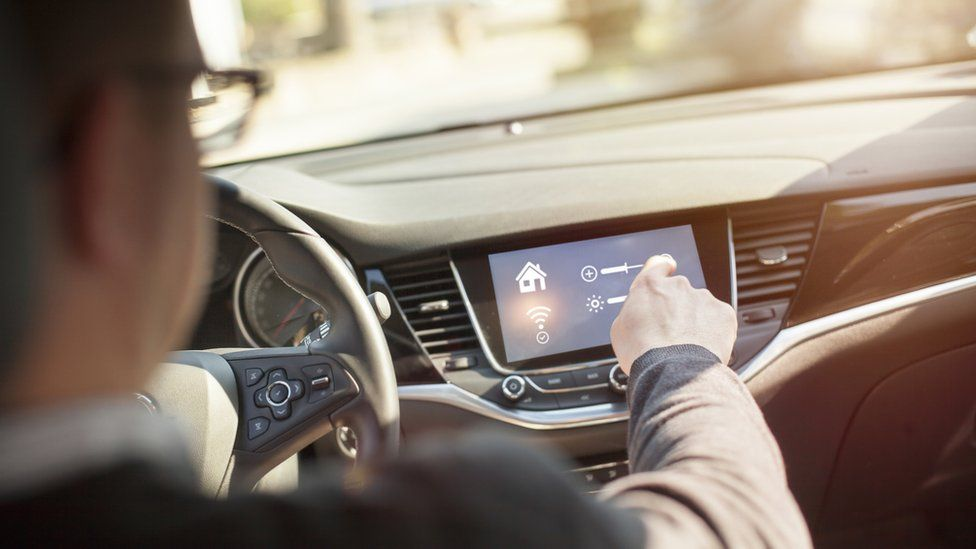 The computer chips needed for connected cars are currently in short supply