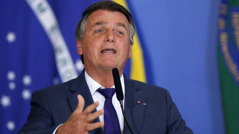 Mr Bolsonaro and his supporters have frequently had posts removed from social media