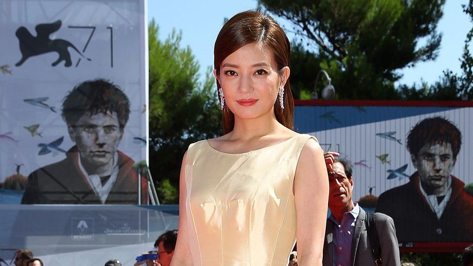 Actress Zhao Wei also fell foul of China's censors last week
