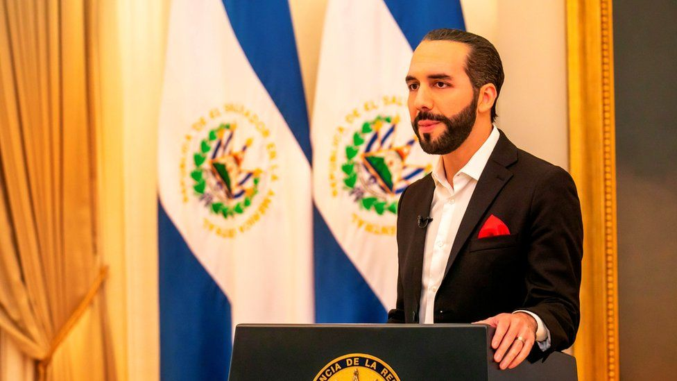 El Salvador's President Nayib Bukele addressed the country in June to speak about his Bitcoin legal tender plan